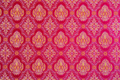Public pattern  Thai fabric. For Buddhist ritual Stock Images