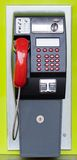 Public pay phone Stock Images