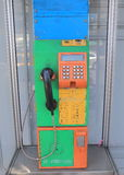 Public pay phone Bangkok Thailand Royalty Free Stock Photo