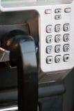 Public payphone Stock Image