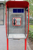 Public payphone Royalty Free Stock Photos