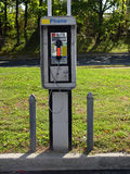 Public Phone. Photo of a Pay Phone Royalty Free Stock Photo