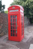 Public Phone Box. Traditional Public Phone Box in London, England Stock Photos