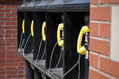 Public phones Royalty Free Stock Images