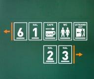 Public pictogram Stock Images