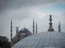 Public places A world heritage blue mosque in the historic city of Turkey.  stock image