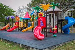 Public playground Stock Photo