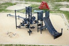 Public playground climbing construction Royalty Free Stock Photo
