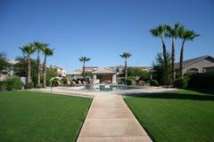 Public pool Royalty Free Stock Image
