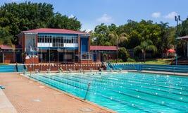 Free Public Pool In Hatfield Pretoria. Stock Images - 111548594