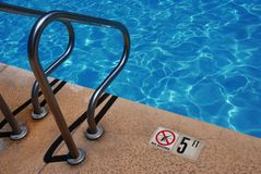 Public Pool-No Diving Royalty Free Stock Image