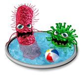 Public Pool Virus Royalty Free Stock Photo