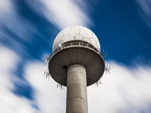 Public Radar Station Tower. Civil Radar Tower in Salzburg, Austria Stock Photos