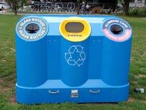 Public Recycling Bin Stock Photography