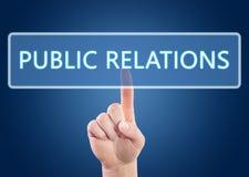 Public relations stock foto