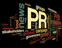 Free Public Relations Concept In Tag Cloud Stock Photo - 29826520