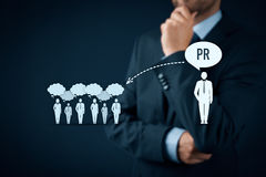Free Public Relations PR Royalty Free Stock Photography - 70990407