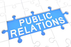 Public Relations royalty free illustration