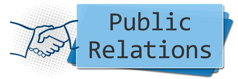 Public Relations Side Squares Royalty Free Stock Photos