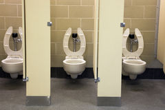 Public restroom. In the center of city royalty free stock photos