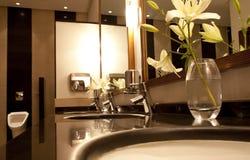 Public restroom Stock Image