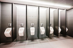 Public restroom Royalty Free Stock Photography