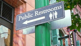 Public Restroom Royalty Free Stock Photo