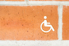 Public Restroom For Disabled People Stock Images
