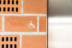 Public Restroom For Disabled People Stock Photos