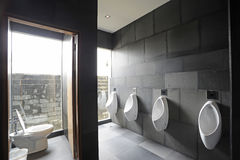 Public restroom Stock Photography