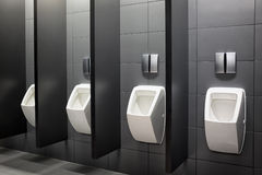 Public restroom Stock Images