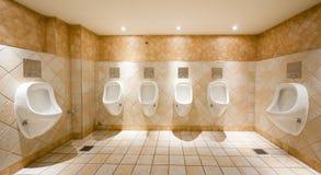 Public restroom Stock Photos