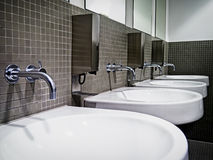 Public restroom Royalty Free Stock Photo