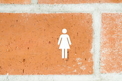 Public Restroom For Woman Royalty Free Stock Image