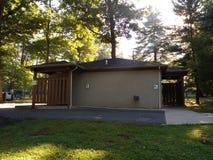 Public Restrooms in Van Saun County Park, Paramus, New Jersey, USA Stock Photos