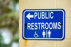 Public Restrooms Stock Images