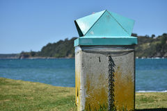 Public rubbish bin. Stock Photography