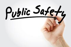 Free Public Safety Text With Marker Stock Photos - 197888273