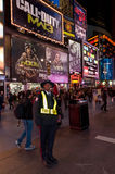Public Safety in Time Square Royalty Free Stock Photos