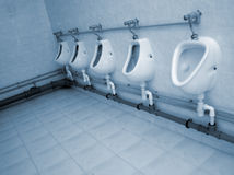 Public sanitary engineering Stock Images
