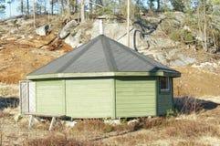Public sauna for athletes, Norway Royalty Free Stock Photos