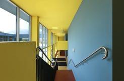 Public school, staircase Stock Image