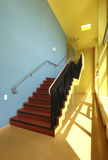 Public school, staircase Royalty Free Stock Images