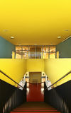 Public school , staircase view Royalty Free Stock Photography