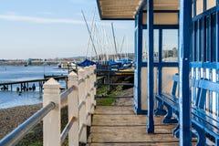 Leigh on sea essex uk coastline Stock Images