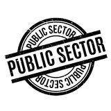 Public Sector rubber stamp Stock Photo