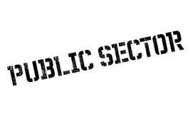 Public Sector rubber stamp Royalty Free Stock Photos