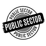 Public Sector rubber stamp Royalty Free Stock Image