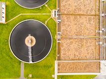 Public sewage treatment. Stock Image