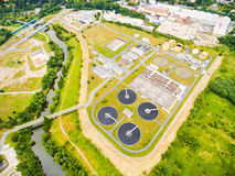 Public sewage treatment. Stock Photography